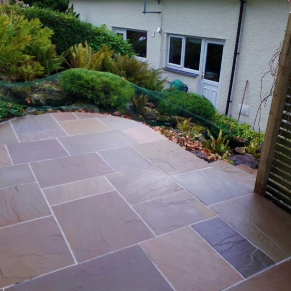 Stone Flagged Patio