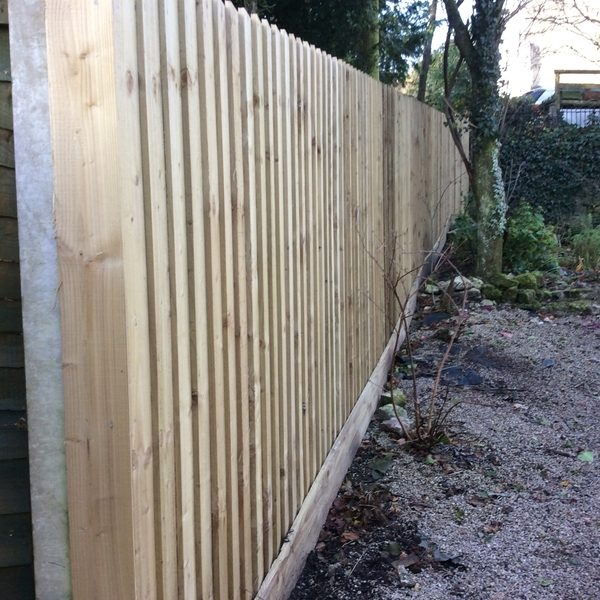 Bespoke Feather Edge Fence