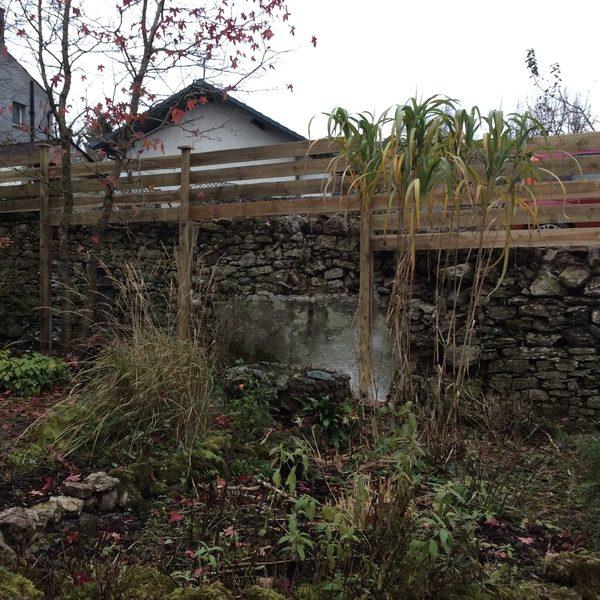 Bespoke Sawn Rail Fence