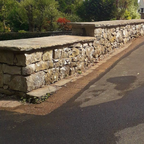 Refurbished Stone Wall